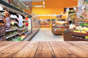 covid cough in supermarket