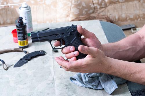 arrested for gun possession Audubon, NJ