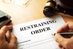 restraining order violation Audubon, NJ